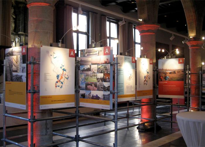 Tentoonstelling ISOCARP International Society Of City And Regional Planners Congres Elzenveld Stad Antwerpen © BizBis