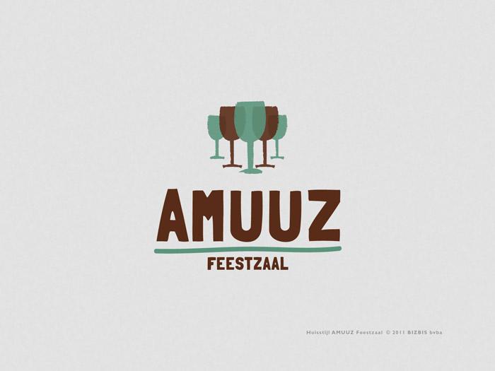 huisstijl logo Amuuz © BizBis