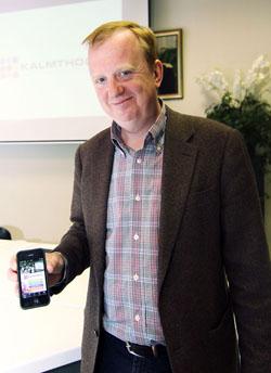 burgemeester Lucas Jacobs app gemeente Kalmthout © BizBis