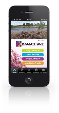 app gemeente Kalmthout © BizBis