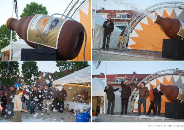 inhuldiging bier gemeente Edegem © BizBis
