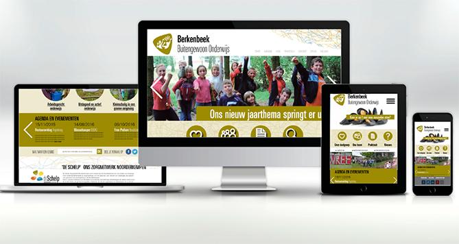 responsive website voor zorgnetwerk Noorderkempen De Schelp, berkenbeek, revalidatiecentrum, spectrum, ontwerp © BizBis