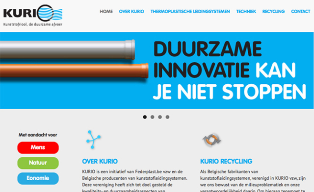 responsive website Kurio © BizBis