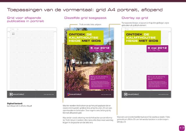 grafisch handboek huisstijl gemeente Kalmthout © BizBis