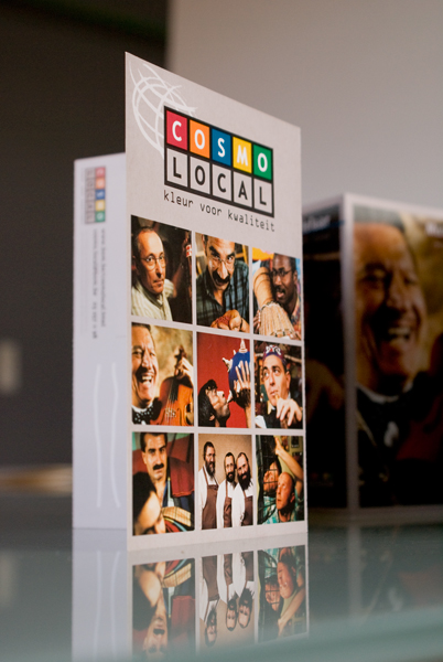 Ontwerp campagne Cosmo Local Stad Antwerpen © BizBis