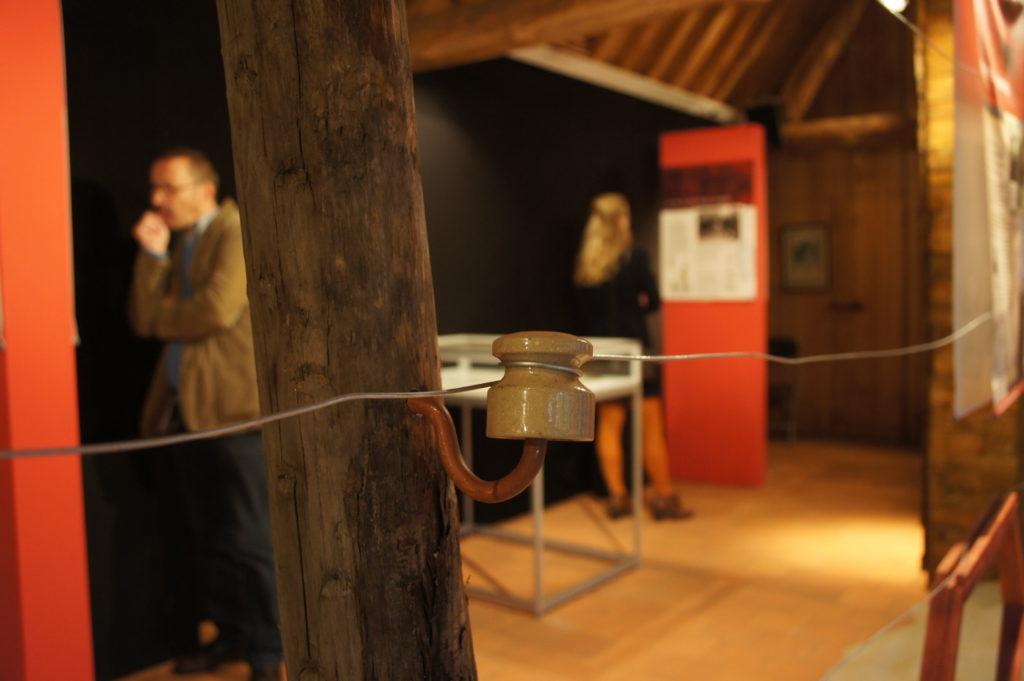 doodendraad tentoonstelling Kalmthout herdenking WO1 © BizBis