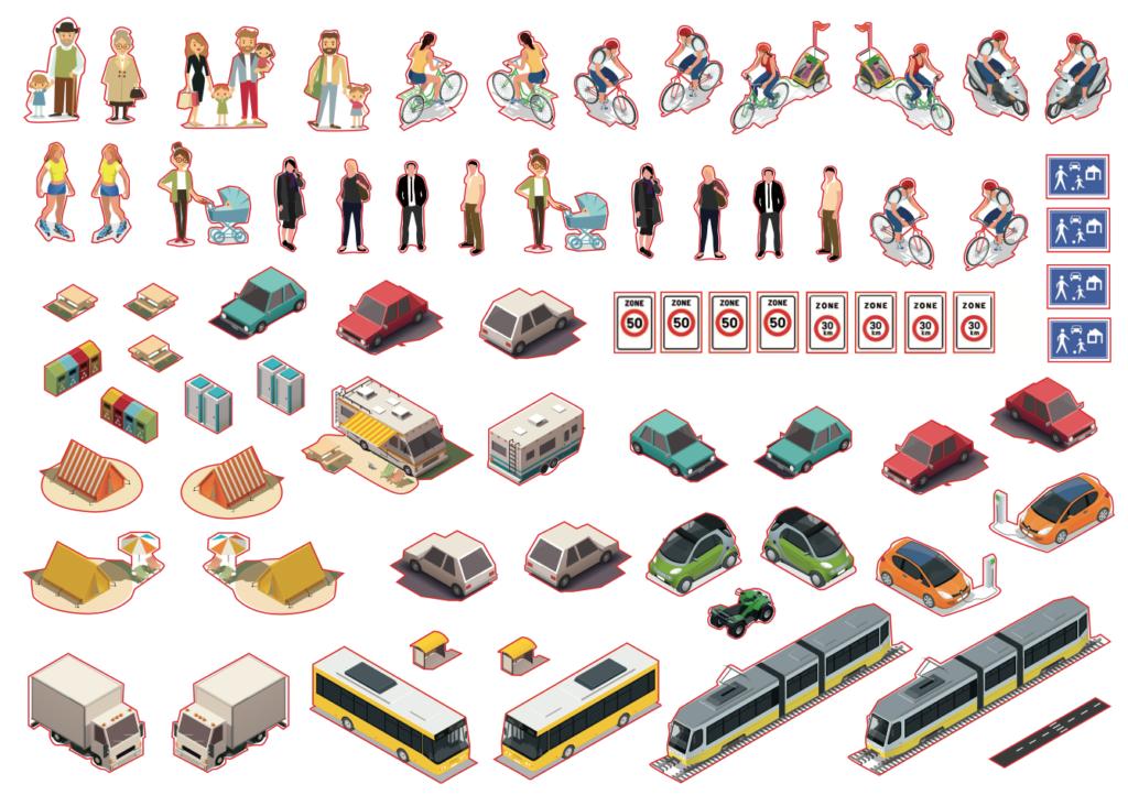 mobiliteitsstickers actie geef je mening in Kalmthout
