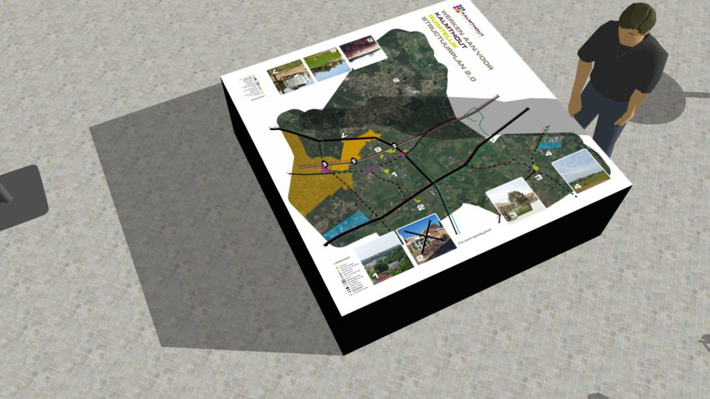infomarkt over ruimte en mobiliteit Kalmthout